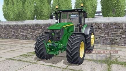 John Deere 6230R dynamic exhaust for Farming Simulator 2017