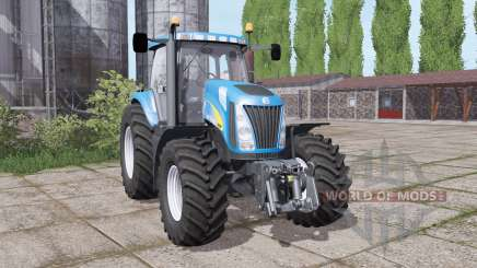 New Holland TG230 twin wheels for Farming Simulator 2017
