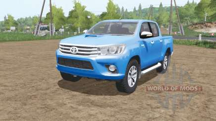 Toyota Hilux 4x4 Double Cab 2015 for Farming Simulator 2017