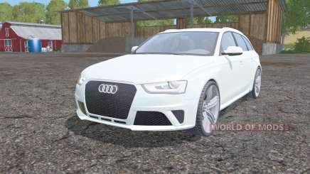 Audi RS 4 Avant (B8) 2012 for Farming Simulator 2015