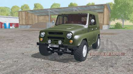 UAZ 469 1973 for Farming Simulator 2015