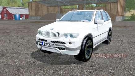 BMW X5 (E53) 2004 for Farming Simulator 2015
