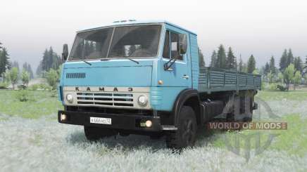 KamAZ 53212 blue for Spin Tires