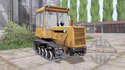 DT 75ML with a blade for Farming Simulator 2017