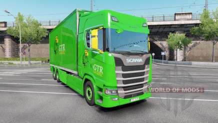 Scania S 730 Highline Tandem v3.0 for Euro Truck Simulator 2