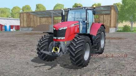 Massey Ferguson 7626 twin wheels for Farming Simulator 2015