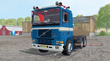 Volvo F12 Intercooler tractor 1987 for Farming Simulator 2015