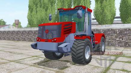 Kirovets K-744Р4 bright red for Farming Simulator 2017