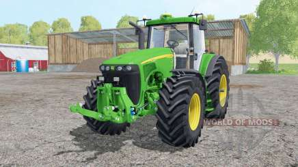 John Deere 8520 interactive control for Farming Simulator 2015