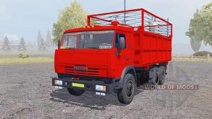 KamAZ 55102 with a trailer for Farming Simulator 2013