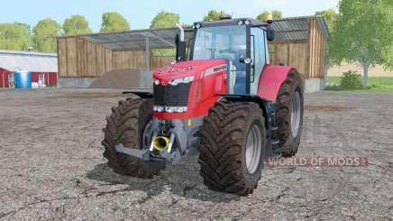 Massey Ferguson 7626 interactive control for Farming Simulator 2015