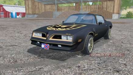 Pontiac Firebird Trans Am Special Edition 1977 for Farming Simulator 2015