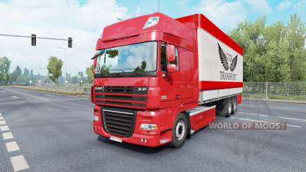 DAF XF105 Super Space Cab Tandem for Euro Truck Simulator 2