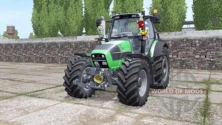 Deutz-Fahr Agrotron 620 TTV interactive control for Farming Simulator 2017