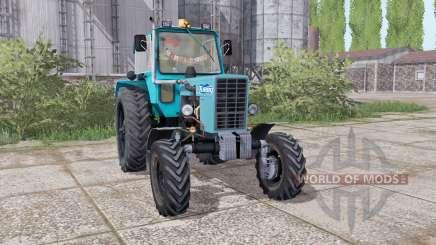 MTZ 82 Belarus tractor rear dual wheels for Farming Simulator 2017