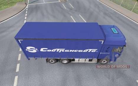 DAF XF105 Tandem for Euro Truck Simulator 2