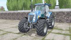 New Holland TG285 moving elements for Farming Simulator 2017