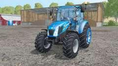 New Holland T4.75 interactive control for Farming Simulator 2015