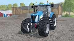 New Holland TG 285 wheels weights for Farming Simulator 2015