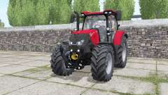 Case IH Maxxum 115 CVX wheels selection for Farming Simulator 2017