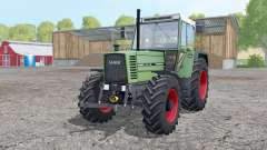 Fendt Farmer 312 LSA Turbomatik manual ignition for Farming Simulator 2015