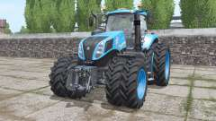 New Holland T8.435 front loader for Farming Simulator 2017