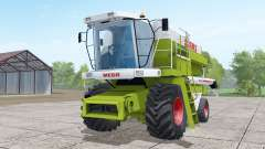 Claas Dominator 208 Mega wheels selection for Farming Simulator 2017