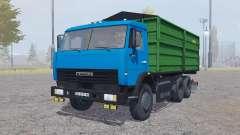 KamAZ 45143 with trailer v2.1 for Farming Simulator 2013