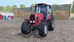 Belarus 2022.3 moderately pink for Farming Simulator 2015