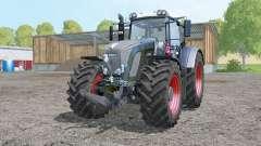 Fendt 936 Vario Black Beauty double wheels for Farming Simulator 2015