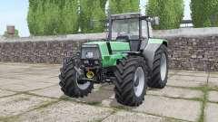 Deutz-Fahr AgroStar 6.71 narrow twin wheels for Farming Simulator 2017