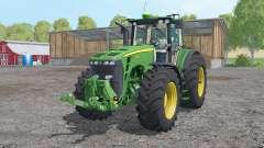 John Deere 8530 doppelrader for Farming Simulator 2015