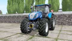 New Holland T7.315 wheels selection for Farming Simulator 2017