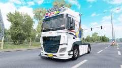 DAF XF Super Space Cab Jelle Schouwstra v1.1 for Euro Truck Simulator 2