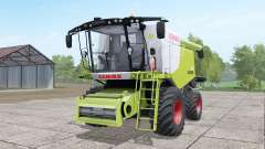 Claas Lexion 670 4x4 for Farming Simulator 2017
