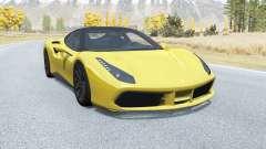Ferrari 488 GTB 2015 for BeamNG Drive