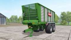Bergmann HTW 35 lime green for Farming Simulator 2017
