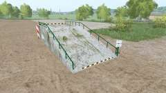 Large loading ramp for Farming Simulator 2017