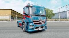 Mercedes-Benz Antos 1840 2012 Kings Customs for Euro Truck Simulator 2