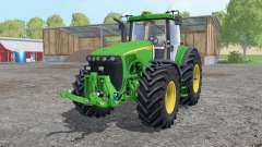 John Deere 8520 extra weights for Farming Simulator 2015