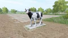 A sculpture of a cow for Farming Simulator 2017