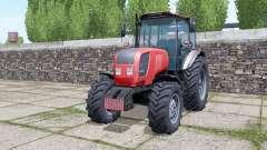 Belarus 2022.3 rear dual wheels for Farming Simulator 2017