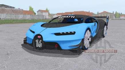 Bugatti Chiron Vision Gran Turismo 2015 for Farming Simulator 2017