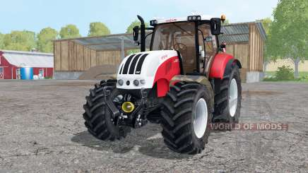 Steyr 6230 CVT starkes rot for Farming Simulator 2015