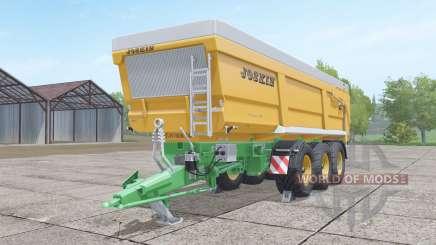 Joskin Trans-Space 8000-27 TRC150 for Farming Simulator 2017