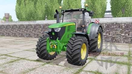 John Deere 6215R moving elements for Farming Simulator 2017