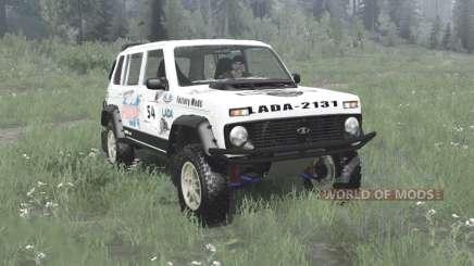 Lada Niva (2131) 1995 Rally v1.1 for MudRunner