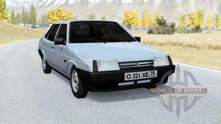 Lada Samara (VAZ 21099) v2.0 for BeamNG Drive