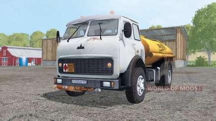 MAZ 500A petrol tanker for Farming Simulator 2015