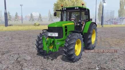 John Deere 6830 Premium interactive control for Farming Simulator 2013